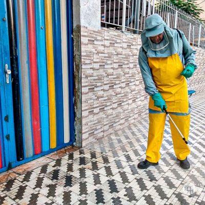 Processo de sanitização