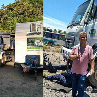 Coordenaria de Transportes recupera veículo da frota municipal abandonado em depósito publico em Seropédica