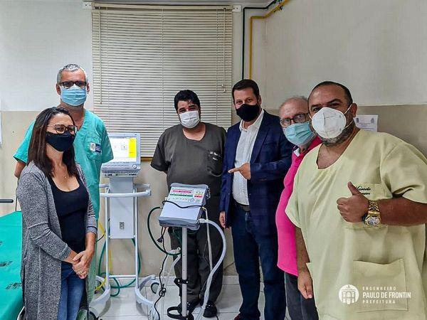 Secretaria de Saúde recebe respiradores para auxiliar no atendimento aos contaminados pela Covid-19