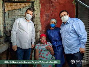 Read more about the article Idosos começam a ser vacinados em Paulo de Frontin