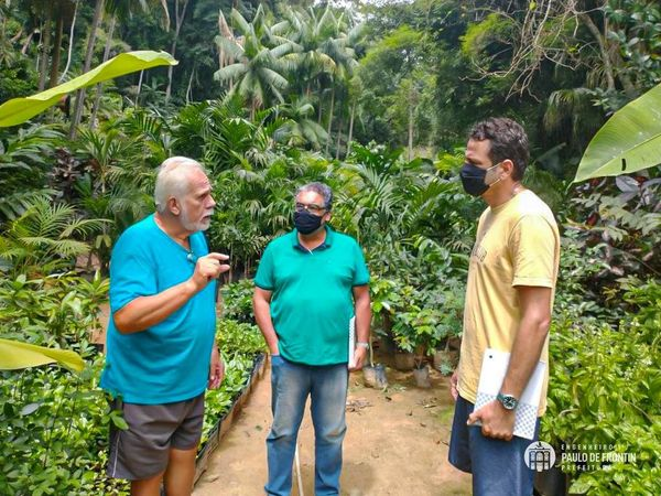 Secretário de Meio Ambiente visita Quinta Santa Mathilde