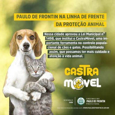 Paulo de Frontin na linha de frente da proteção animal