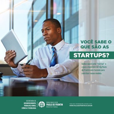 Startups de Frontin destacam-se pela criação de produtos inovadores.