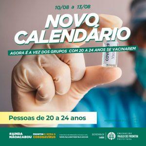 Read more about the article Vacinação das pessoas com 20 a 24 anos