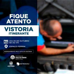 Read more about the article Agende a sua vistoria itinerante