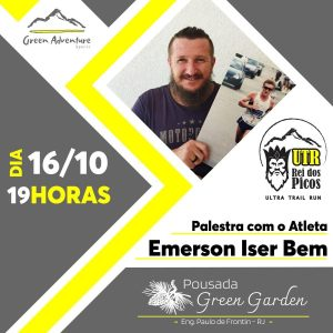 Read more about the article Palestra com o Atleta Emerson Iser Bem