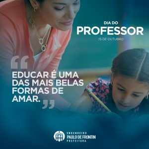 Read more about the article Dia do Professor